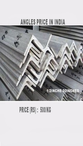 ss angles suppliers, ss angles manufacturer in india, hot rolled ss