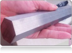 ASTM A276 Stainless Steel 316 Extruded Hex Bar In India
