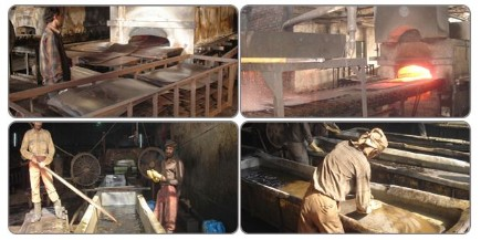 Manufacturing process of Patta